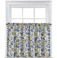 Cafe Tier Curtains Cottage Floral Cafe Tier Curtains Ebay