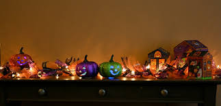 Halloween House Decoration Ideas by Ideas Spooky Mantel Design Ideas With Halloween Theme To Make
