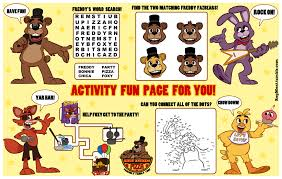 a crossword puzzle would be more proper five nights at freddy u0027s