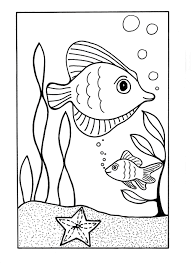 under the sea coloring page printable crafts summer crafts and
