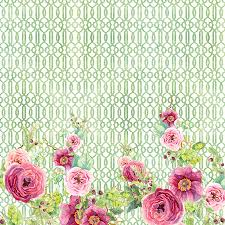 secret garden 2 peony n rose fern hops berries and trellis