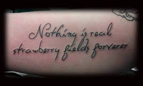 tattoos are forverer