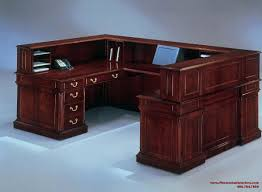 reception desk u shaped reception desk with countertop
