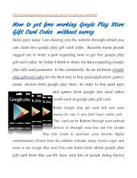 purchase play gift card how to get play gift card codes android play store
