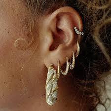 beyonce earrings beyoncé s piercings jewelry style