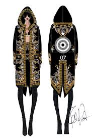 givenchy by riccardo tisci fashion sketches fashionary hand