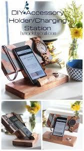 Diy Charging Station How To Make A Diy Accessory Holder Charging Station From Scrap