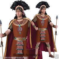 Aztec Halloween Costume Mayan King Costume Aztec Indian Warrior Mexican Halloween