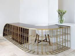 Small Reception Desk Ideas Best 25 Salon Reception Desk Ideas On Pinterest Salon Ideas