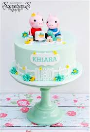 46 best peppa pig cakes images on pinterest peppa pig cakes