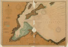 Map Of Lake Superior Print Of Chart No 2 Of Apostle Islands Including Chequamegon Bay