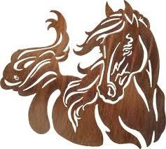 windy romantic horse wall mount metal wall art 28
