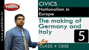 making of germany and italy rraise of nationalism in europe