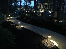 Landscape Path Lights by Best Landscape Lighting Ideas Basnight Land U0026 Lawn
