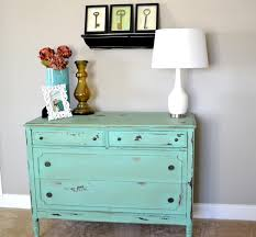 Turquoise Entry Table by Wood Smoke Liz Marie Blog