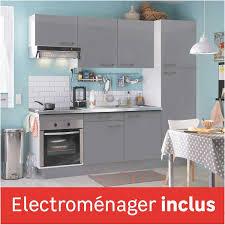 cuisine toute equipee avec electromenager cuisine équipée en kit avec meuble électroménager évier et