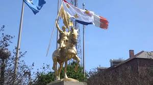 Joan Of Arc Flag Joan Of Arc Monument New Orleans Usa Youtube