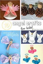 10 angel craft for kids bible craft ideas