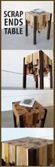 create your own wood herringbone tray from scrap wood
