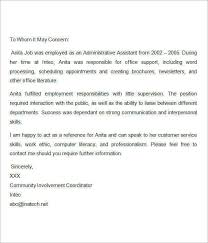 ideas of sample referral letter for job application also cover