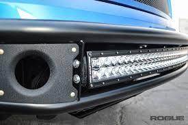 f150 bumper light bar 2009 2014 ford f 150 rebel front bumper rogue racing