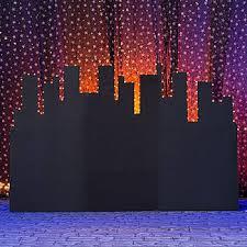 prom backdrops above the city lights skyline backdrop city skyline backdrop