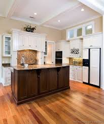Kitchen Design Pictures Dark Cabinets 33 Best Dark Island White Cabinets Images On Pinterest Dream