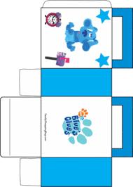 blues clues box 2 blues clues favor box free printable ideas