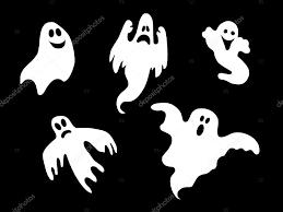 isolated halloween ghosts u2014 stock photo pdesign 1779165