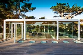Glass Pavilion Glass Pavilion Atop The Paley House By Dyar Architects And John