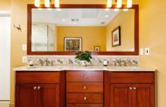 Bronze Bathroom Mirrors by Oil Rubbed Bronze Faucet Framed Bathroom Mirrors Ideas Floating