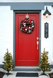wonderful front door garland contemporary best