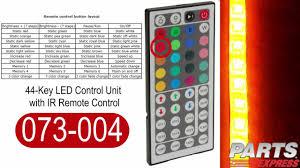 44 key led light controller