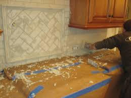 Installing Kitchen Tile Backsplash Modern Kitchen Tile Backsplash Ideas With White Cabinets