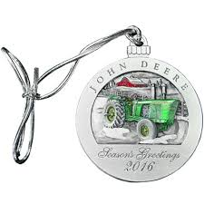 deere 2016 collectible dealer ornament home