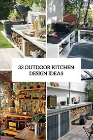32 inviting and functional outdoor kitchen design ideas gardenoholic