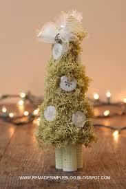 remadesimple upcycled mini christmas trees