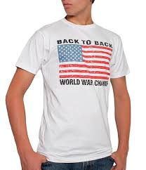 Awesome American Flag Shirts Amazon Com Usa Back To Back World War Champs Men U0027s T Shirt White