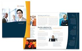 free brochure template download free brochure template word