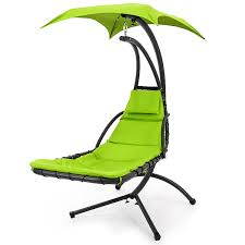 Lounge Chair Dimensions Ergonomics Amazon Com Best Choice Products Hanging Chaise Lounger Chair Arc