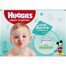 huggies one and done refreshing baby wipes scented refills 3