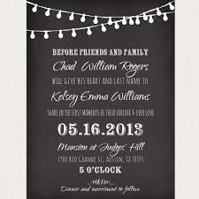 sams club wedding invitations chalkboard wedding invitation templates google search wedding