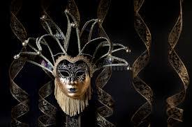 venetian jester mask black gold venetian jester mask stock image image of jester