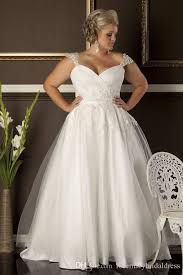 cheap plus size wedding dress a line plus size wedding dresses cheap sweetheart neckline cap