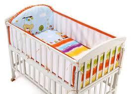color kawaii baby bedding animal mickey breathable mesh crib