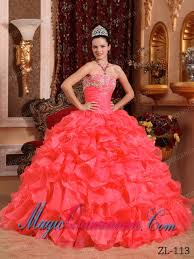 coral pink quinceanera dresses sweet gown strapless beading and appliques quinceanera dress