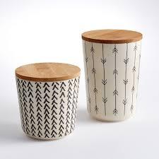 boites cuisine 6 boites déco en céramique pour la cuisine cocon de décoration le