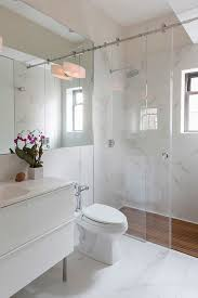 Infold Shower Door by The Small Bathroom Ideas Guide Space Saving Tips U0026 Tricks