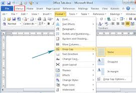 How To Make A Resume On Word 2010 How To Drop Cap In Microsoft Word 2010 And 2007
