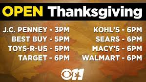 what stores are open this thanksgiving cbs dallas fort worth